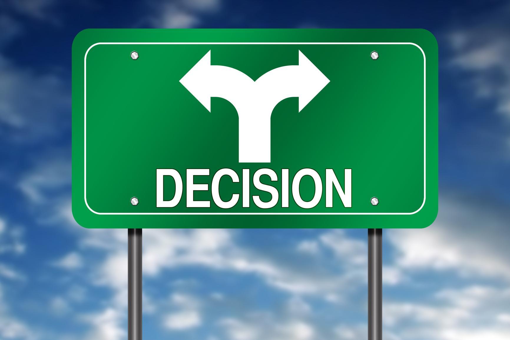 Resultado de imagen para decisiones