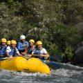 Rafting, ejemplo de trabajo en equipo.